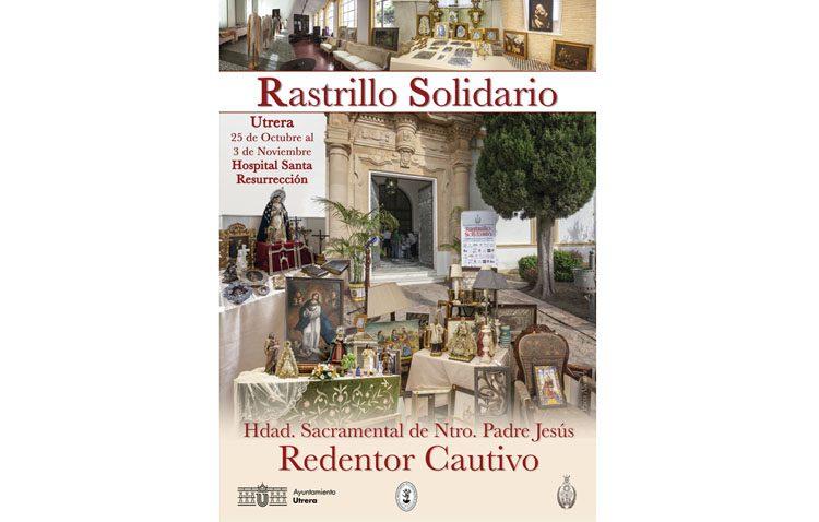 El «Rastrillo Solidario» de la hermandad del Silencio abre este viernes las puertas de su décima edición