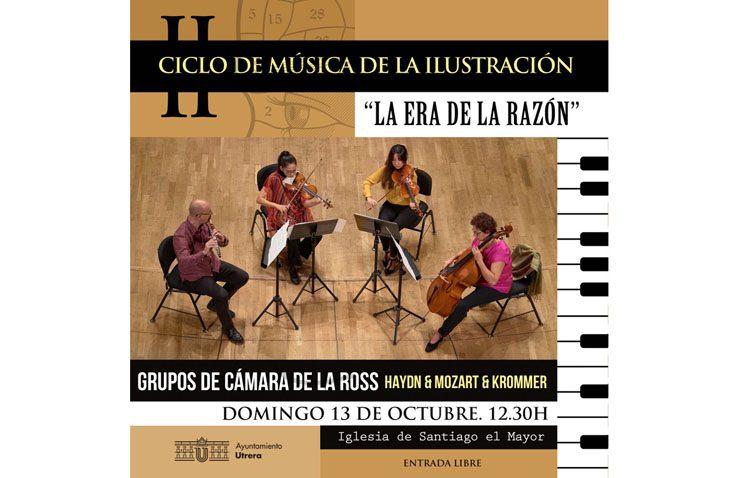 El ciclo de música de la Ilustración regresa tras el verano con un concierto en la parroquia de Santiago