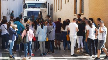 Pasan a disposición judicial los detenidos en la operación contra el narcotráfico desarrollada en El Palmar de Troya