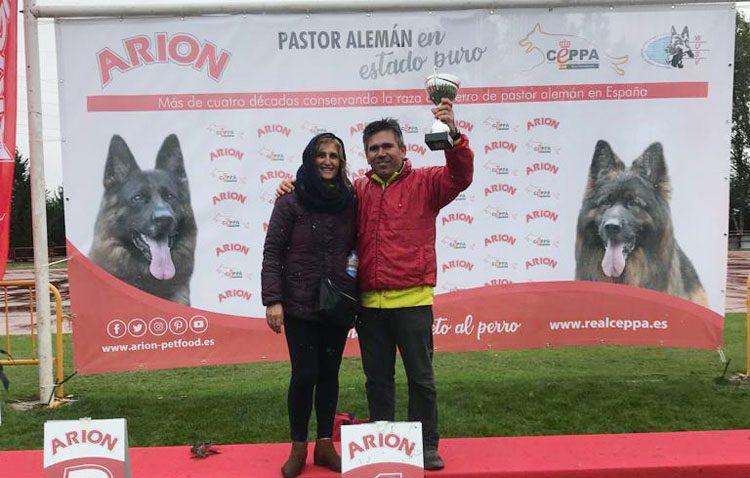 Una pastora alemana de Utrera, campeona de España de Interdelegaciones