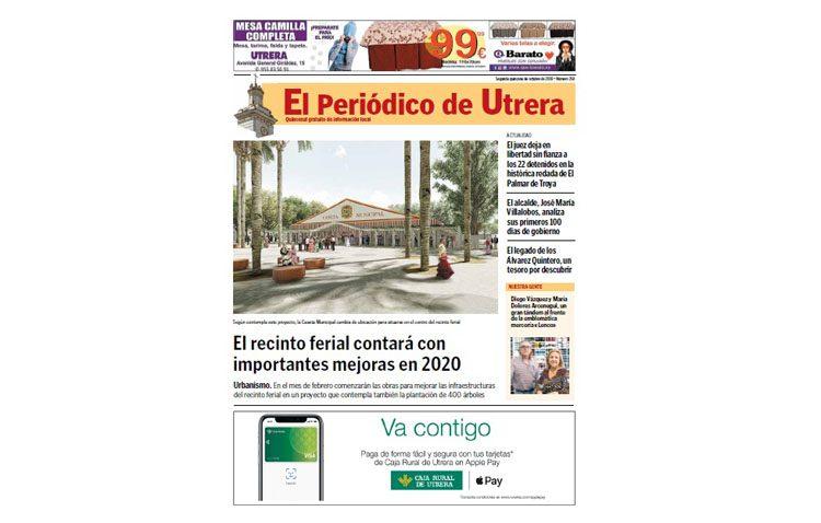Nueva cita quincenal con «El Periódico de Utrera»