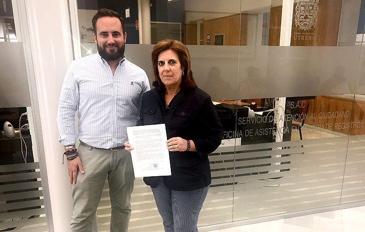 El PP pide al Ayuntamiento que Utrera muestre su apoyo a los cuerpos de seguridad del Estado por su labor en Cataluña