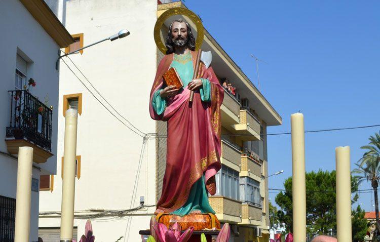 La parroquia de San José celebra cultos en honor a San Judas Tadeo