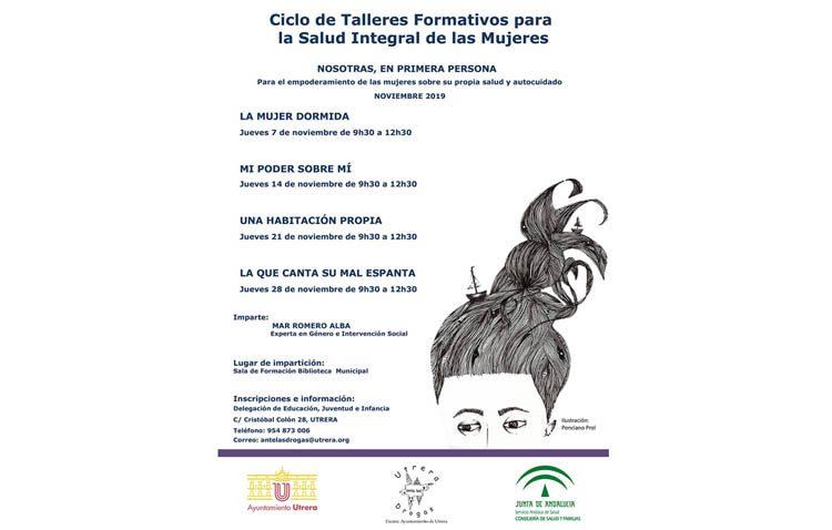 Utrera acogerá un ciclo de talleres formativos para la salud integral de las mujeres