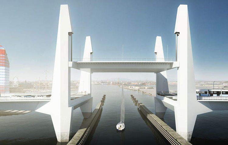 Tecade construirá un nuevo puente levadizo en Suecia
