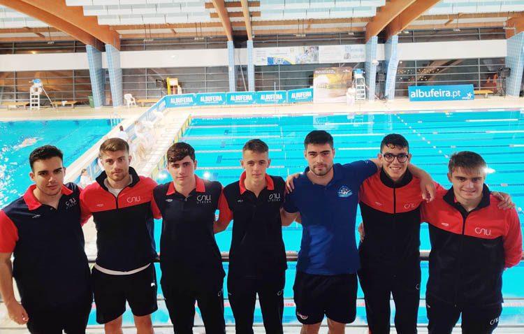 Magníficos resultados para el Club Natación Utrera en el «Vl Meeting internacional del Algarve»