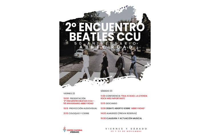 El Centro Cultural Utrerano organiza un encuentro sobre The Beatles