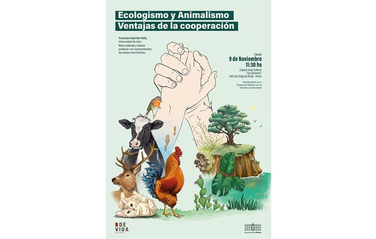 Una jornada para hablar en Utrera sobre ecologismo y animalismo