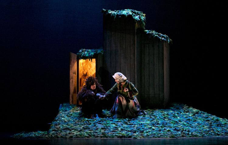 Un espectáculo para toda la familia en el teatro de Utrera con «El niño erizo»