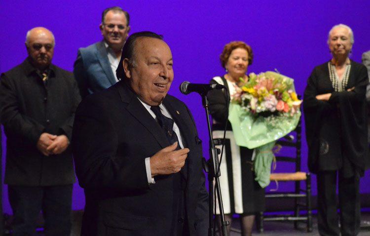 Utrera «salda una gran deuda» con Paco Cepero en el Festival del Mostachón
