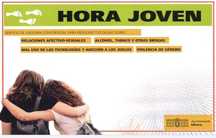 «Hora joven», un programa municipal de asesoramiento para adolescentes de Utrera