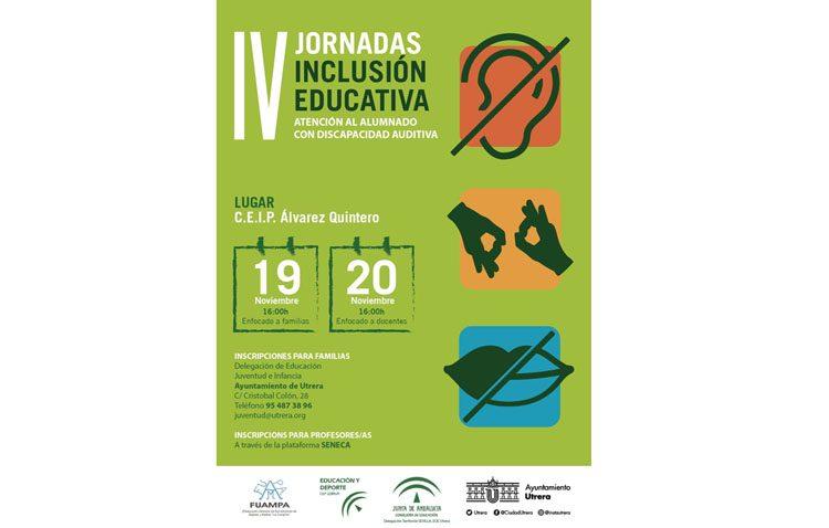 La discapacidad auditiva en las aulas protagoniza este año las Jornadas de Inclusión Educativa en Utrera