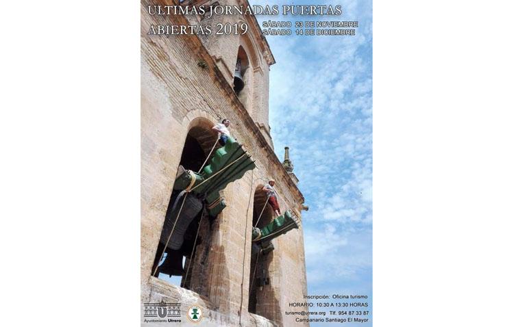 Últimas jornadas de puertas abiertas este año para descubrir el campanario de Santiago y la tradición campanera de Utrera