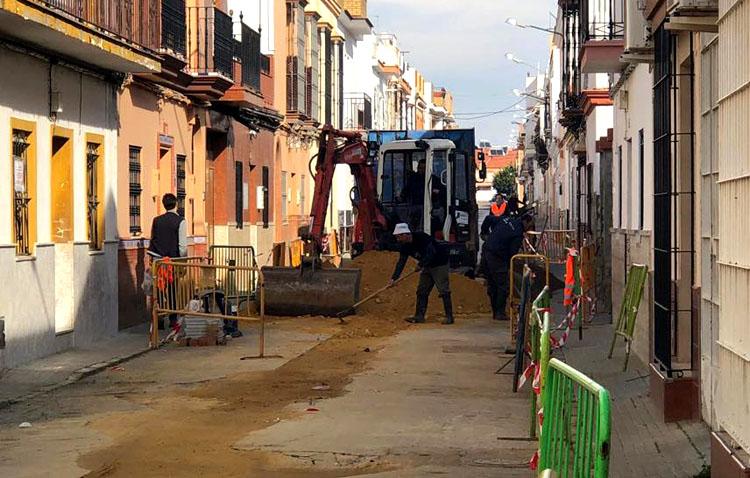 El PER dará trabajo temporal a 450 utreranos para obras de mejoras en varias calles de la ciudad