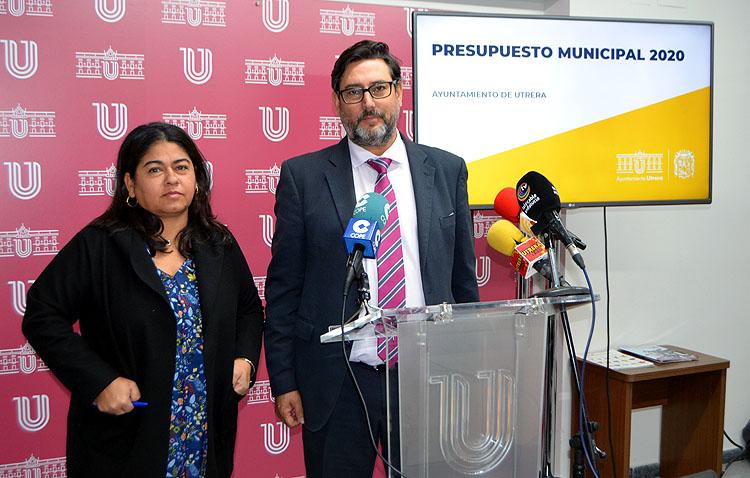 El gobierno de Utrera presenta un presupuesto de 48 millones «social, solvente, ecológico y que piensa en el empleo»