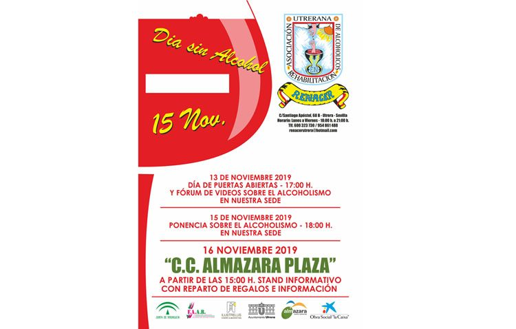 Una semana repleta de actividades en Utrera para conmemorar el Día sin Alcohol