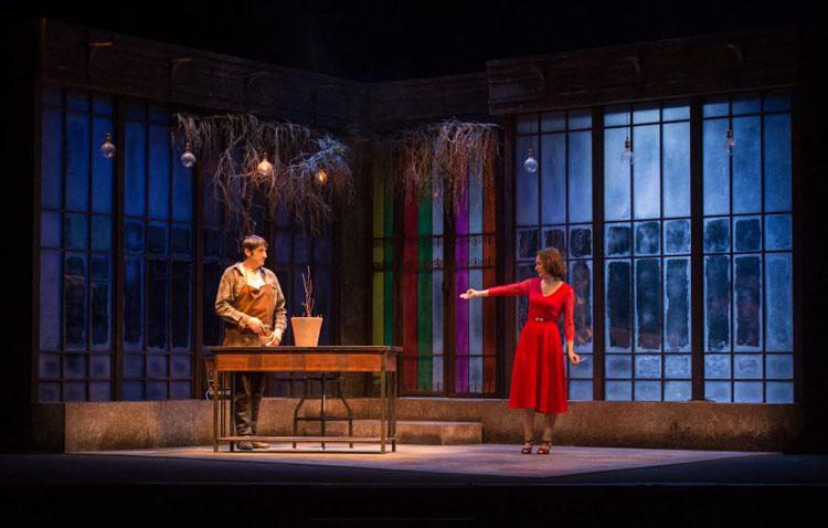 Noche de teatro en Utrera con los conocidos actores Carmelo Gómez y Ana Torrent
