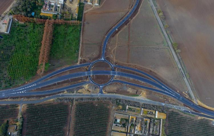 El nuevo enlace de El Torbiscal entra en servicio para mejorar la seguridad del tráfico en la zona