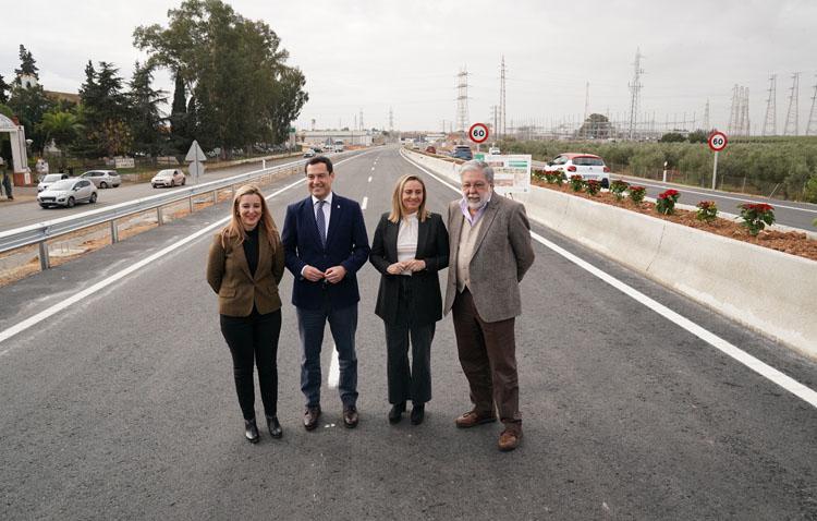 Entra en servicio la autovía que conecta a Utrera con Dos Hermanas y Alcalá de Guadaíra (VÍDEO)