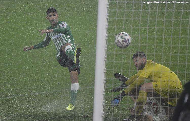 El utrerano Alejandro Meléndez debuta con gol con el Betis