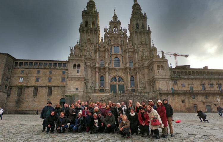 Un viaje por Galicia «lleno de buenos momentos» para el grupo «Amigas»