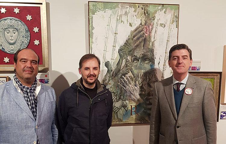 El utrerano Antonio Rodríguez Ledesma, presente en una exposición por el centenario de la coronación de la Virgen del Rocío