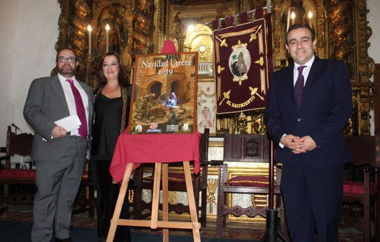 Recuerdos navideños para la exaltación de María del Carmen Cabra organizada por la asociación de belenistas de Utrera