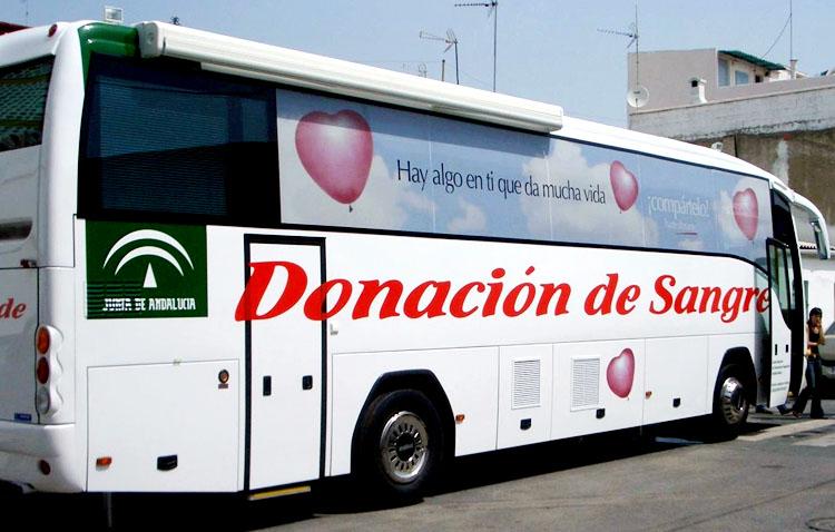 El autobús de hemodonación llega este lunes a Utrera ante la necesidad urgente de sangre