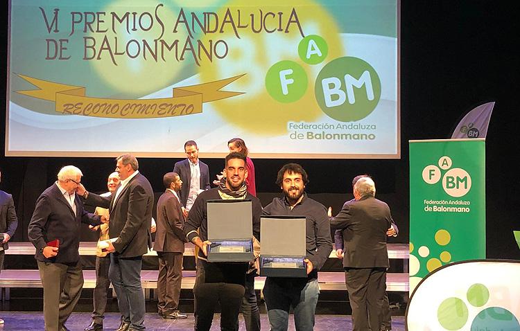 El balonmano utrerano, reconocido en los premios Andalucía de balonmano