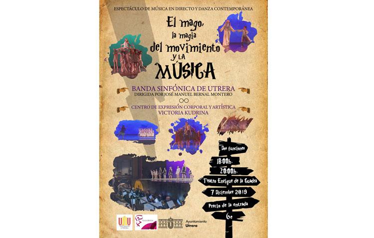Un espectáculo de música en directo y danza en Utrera basado en «Harry Potter»
