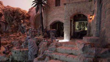 Roban las figuras de San José, la Virgen y el Niño del Belén artístico del Castillo de Utrera