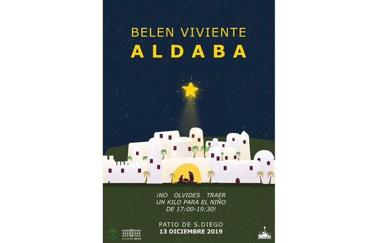 Una tarde para disfrutar del belén viviente solidario de Aldaba en los Salesianos de Utrera