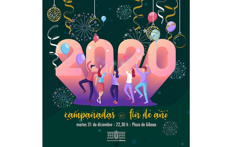 Una fiesta de Nochevieja con música y uvas para cerrar el año 2019 en la plaza de Gibaxa