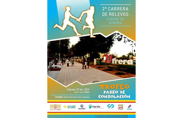 Una carrera de relevos para promocionar el atletismo en Utrera