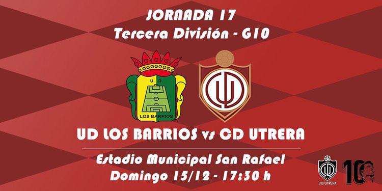 U.D. LOS BARRIOS – C.D. UTRERA: El Utrera retoma la liga en Los Barrios