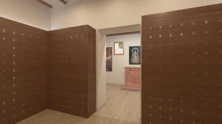 La Junta de Andalucía da luz verde a la instalación de los nichos en el columbario del santuario de Consolación