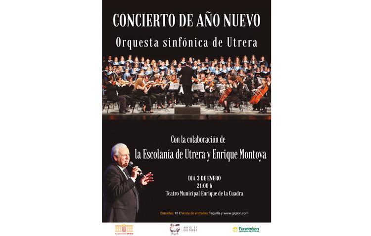 Concierto de año nuevo de la Orquesta Sinfónica de Utrera
