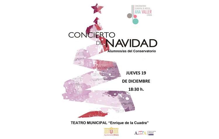 El conservatorio de música de Utrera organiza su tradicional concierto de Navidad