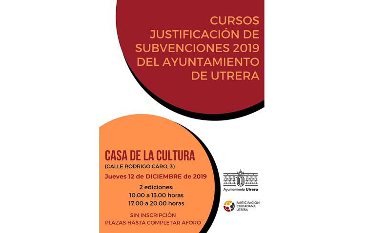 Un curso formativo ayudará a justificar las subvenciones municipales concedidas este año