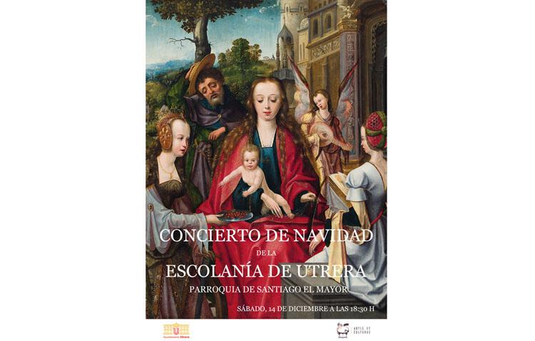 Un concierto de la Escolanía de Utrera con villancicos tradicionales y piezas navideñas procedentes de la música clásica