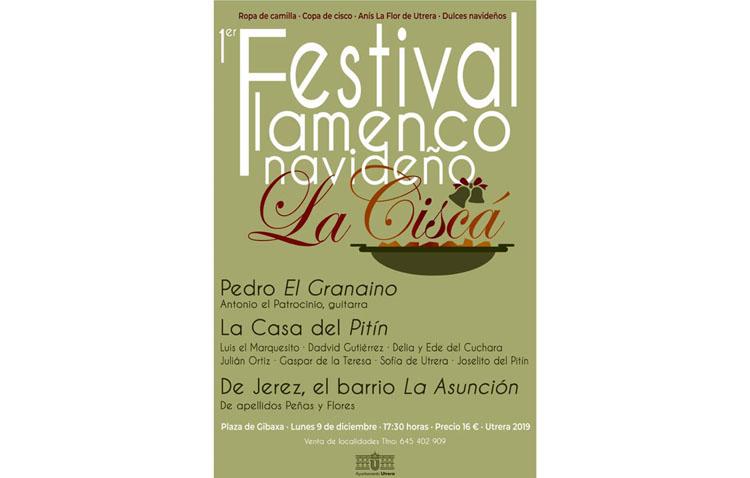 El primer festival flamenco «La ciscá» llenará de mesas de camilla, productos navideños y villancicos la plaza de Gibaxa