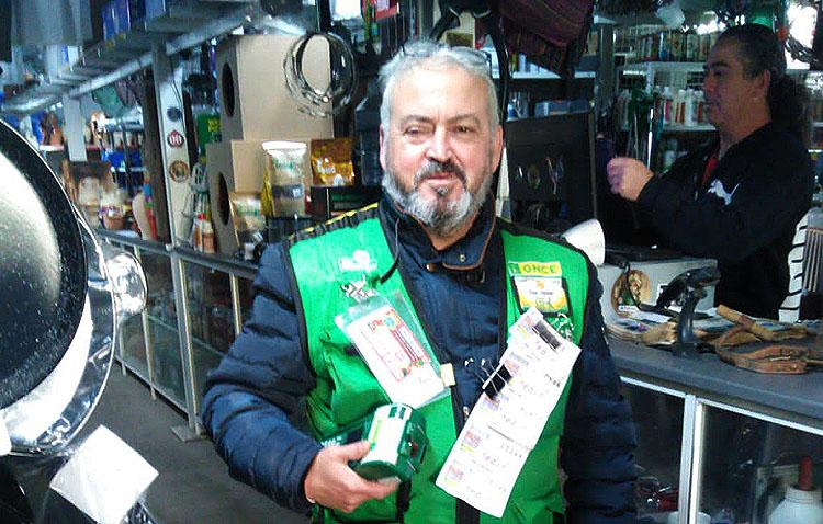 Utrera sigue en racha y consigue otros 400.000 euros en premios gracias a la ONCE