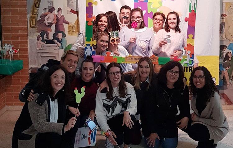 Un «día de las diferentes capacidades» con todos los alumnos utreranos de Educación Especial en el instituto José María Infantes