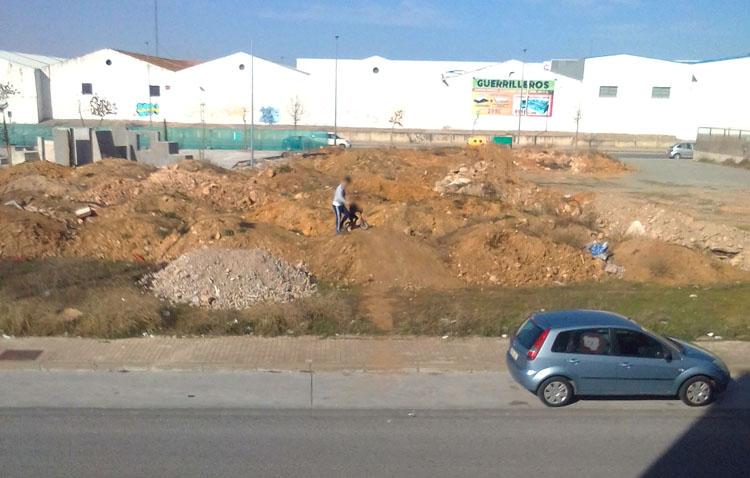 Abandono barrio de Los Molinos