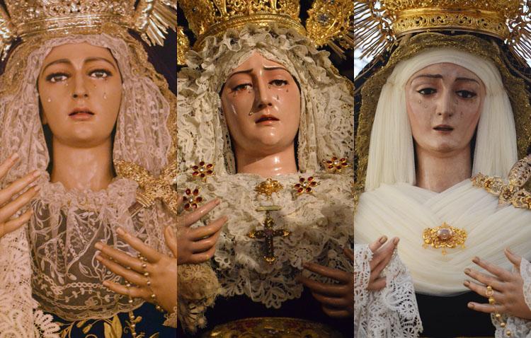 Utrera conmemora la solemnidad de la Inmaculada Concepción con tres «besamanos»