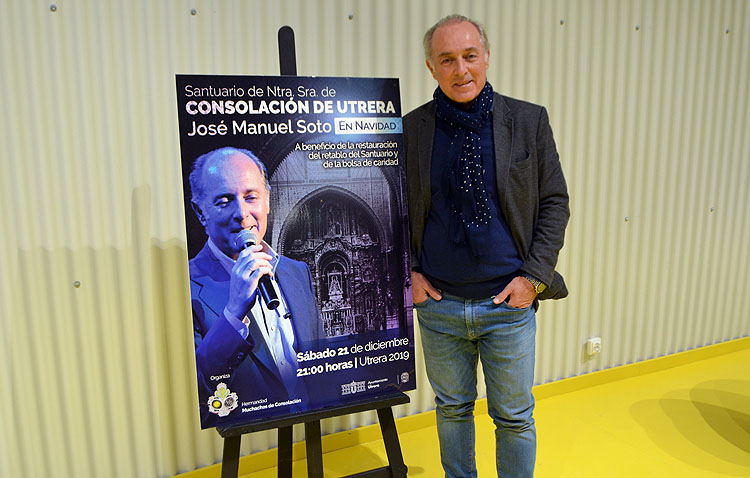 Los Muchachos de Consolación cuelgan el cartel de «no hay entradas» para el recital navideño de José Manuel Soto