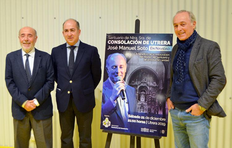 José Manuel Soto: «Es un privilegio cantar en un lugar tan emblemático de Andalucía como el santuario de Consolación»