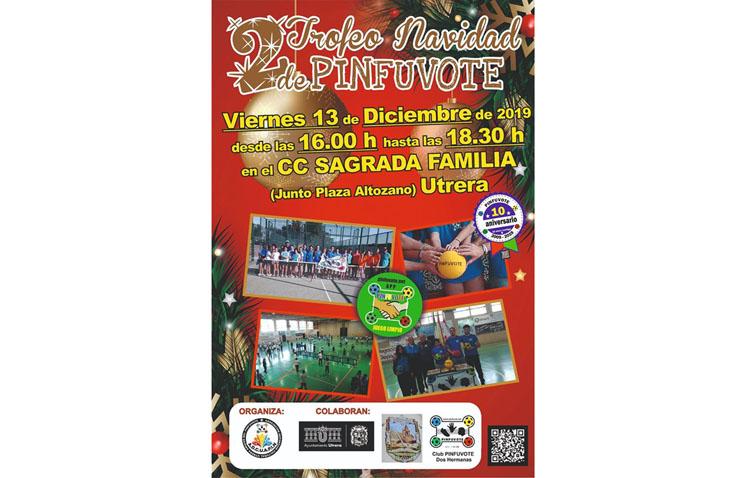 El pinfuvote celebra la segunda edición de su torneo navideño en Utrera