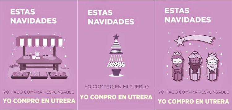 Una campaña de Podemos para informar de «los beneficios de comprar en Utrera»