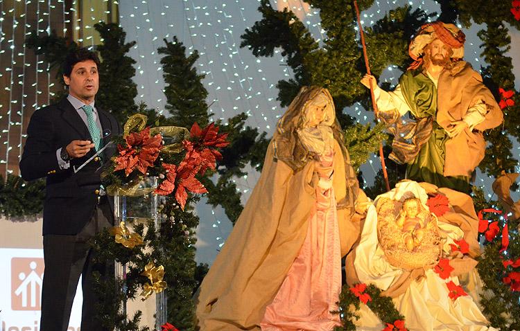 Capotazo de Fran Rivera a la Navidad en un pregón con un mensaje de «sacrificio» y «constancia» en Utrera (IMÁGENES Y AUDIO)